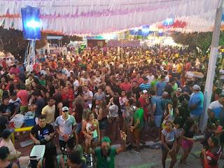 """Prefeitura de Santana dos Garrotes mantem """"Esquenta"""", em festa de senhora Sant'Ana"""