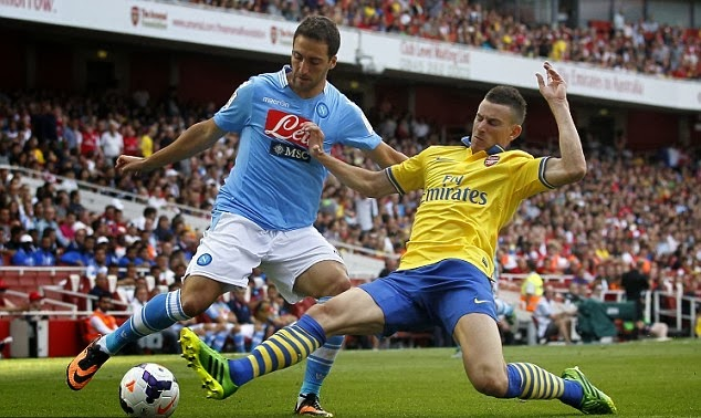 Arsenal vs Napoli Liga Champion