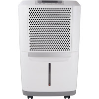 Frigidaire FAD504DWD Energy Star 50 Pint Dehumidifier, control humidity and remove up to 50 pints of water per day plus washable anti-bacterial mesh filter to reduce bacteria, odors and other airborne particles
