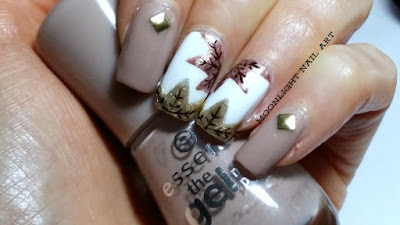 Fall Leaves Nail Art Tutorial - Autumn nail art