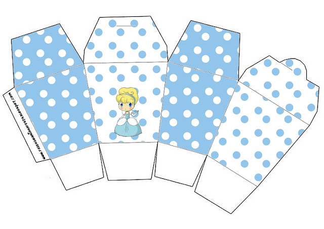 cinderella baby free printable boxes oh my fiesta in english. Black Bedroom Furniture Sets. Home Design Ideas