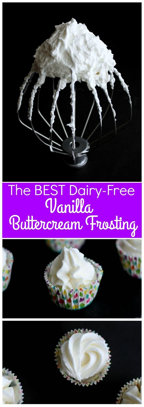 Best Easy Dairy Free Vanilla Frosting