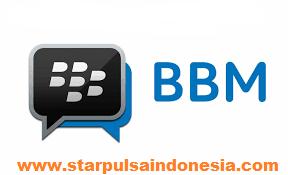 transaksi via bbm star pulsa