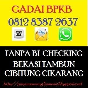 Gadai bpkb mobil di bekasi 081283872637
