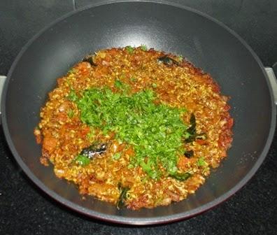 cilantro added