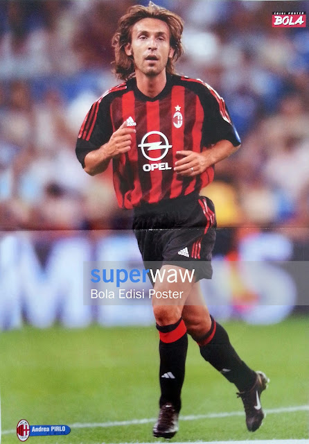 Poster Andrea Pirlo (AC Milan)