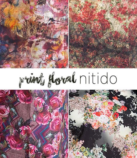 Estampas floral de Inverno 2016 da Nítido Moda Evangélica