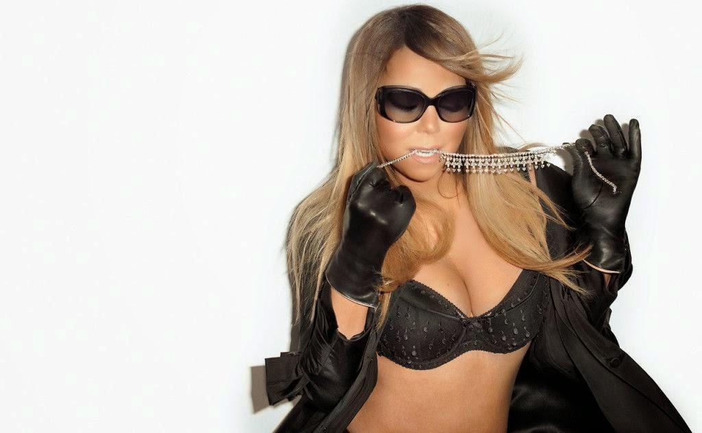 Retro Bikini: Mariah Carey's Bikini Pose With Terry ...