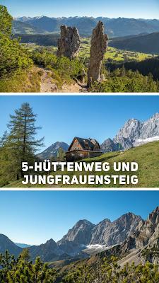 5-Hüttenweg und Jungfrauensteig | Wandern in Ramsau am Dachstein