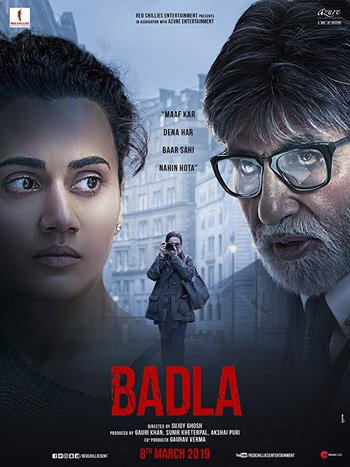 Badla 2019 ORG Hindi Movie HDRip 720p 1.5GB DD5.1Ch ESubs