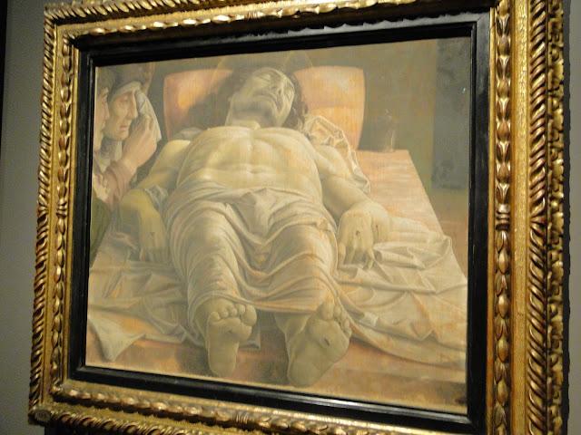 """""""Lamentações sobre o Cristo Morto"""" de Andrea Mantegna"""