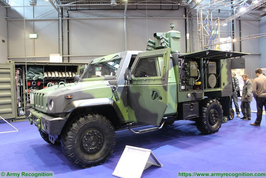 Czech Republic will purchase 80 IVECO LMV 4x4 armored for CBRN