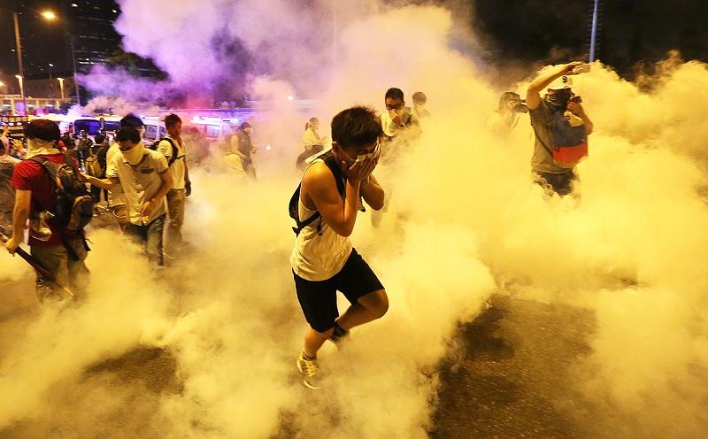Efek Terkena Gas Air Mata