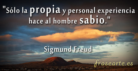 citas sabias de Sigmund Freud