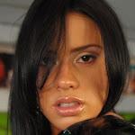 Andrea Rincon, Selena Spice Galeria 5 : Vestido De Latex Negro Foto 95