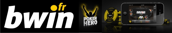 bwin Poker Hero et bwin pour iPhone
