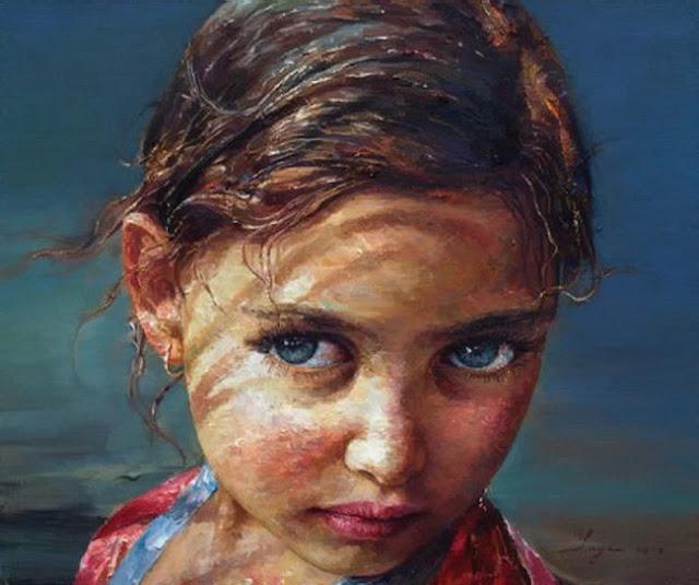 China's Oil Painting Artist Yan Yaya