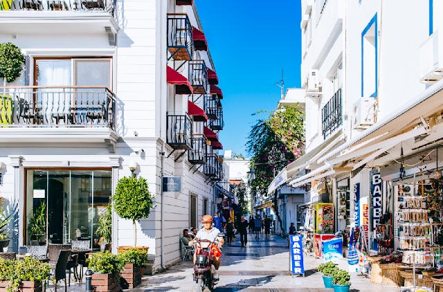 Cidade Turística Bodrum na Turquia