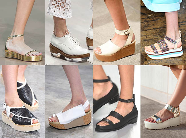 Sepatu Flat Platform Wanita