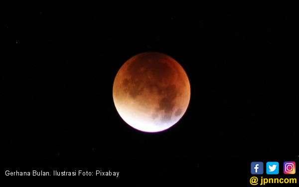 31 Januari, Gerhana Bulan Terlama Abad Ini