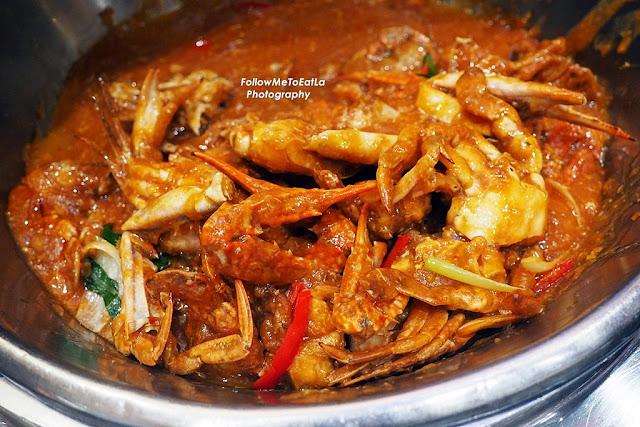Stir Fried Chili Crab
