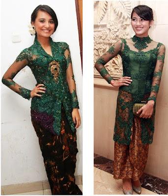 model baju batik kebaya terbaru
