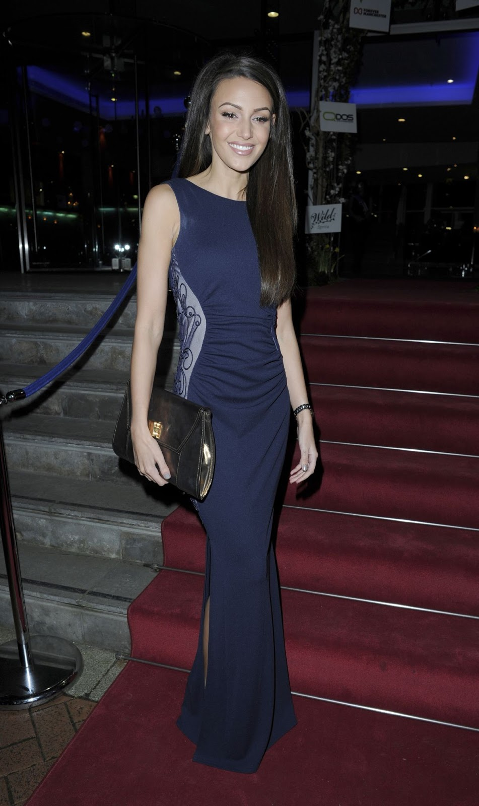 HD Photos of Michelle Keegan At The Mirror Ball In Manchester