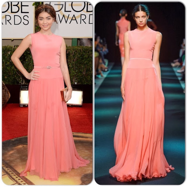 Sarah Hyland in Georges Hobeika Couture – 2014 Golden Globe Awards