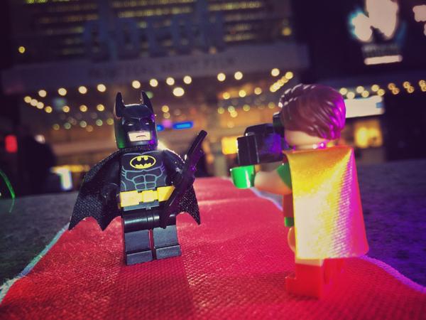 Robin Takes Batman's picture