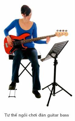 Học đánh đàn guitar bass