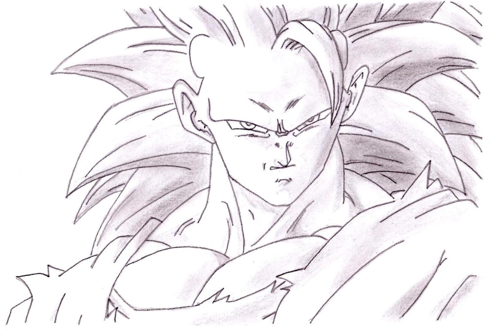 Dibujos Anime: Goku ssj3