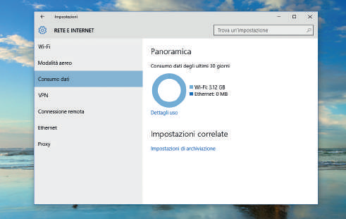 Aggiornamenti, backup e sicurezza windows 10