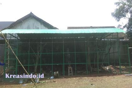 Repeat Order pesanan Kandang untuk Burung Merak Bu Liza di Subang Jawa Barat