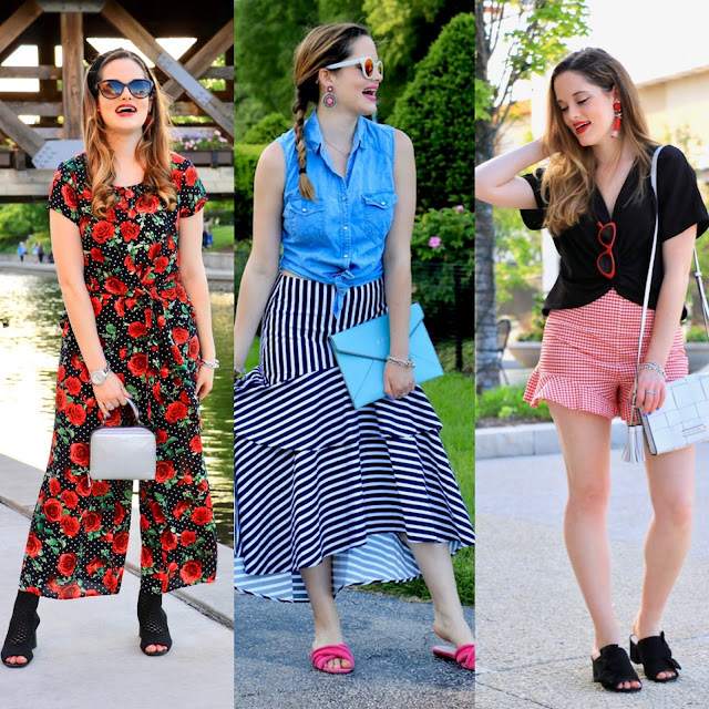 Nyc fashion blogger Kathleen Harper's cute summer outfits