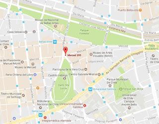 Marilyn sangucheria Lastarria mapa ubicacion