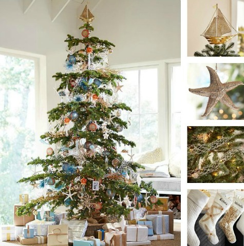 Coastal Christmas Pottery Barn
