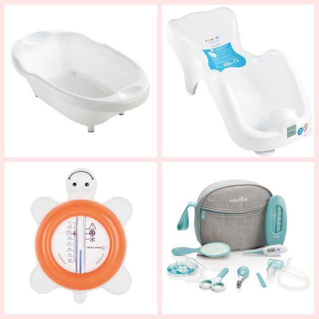 hygiène baignoire transat bain thermomètre trousse soin