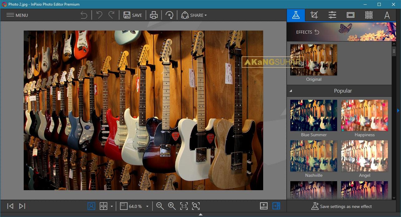 Download InPixio Photo Editor Premium 1.7.6192 Final Full Terbaru