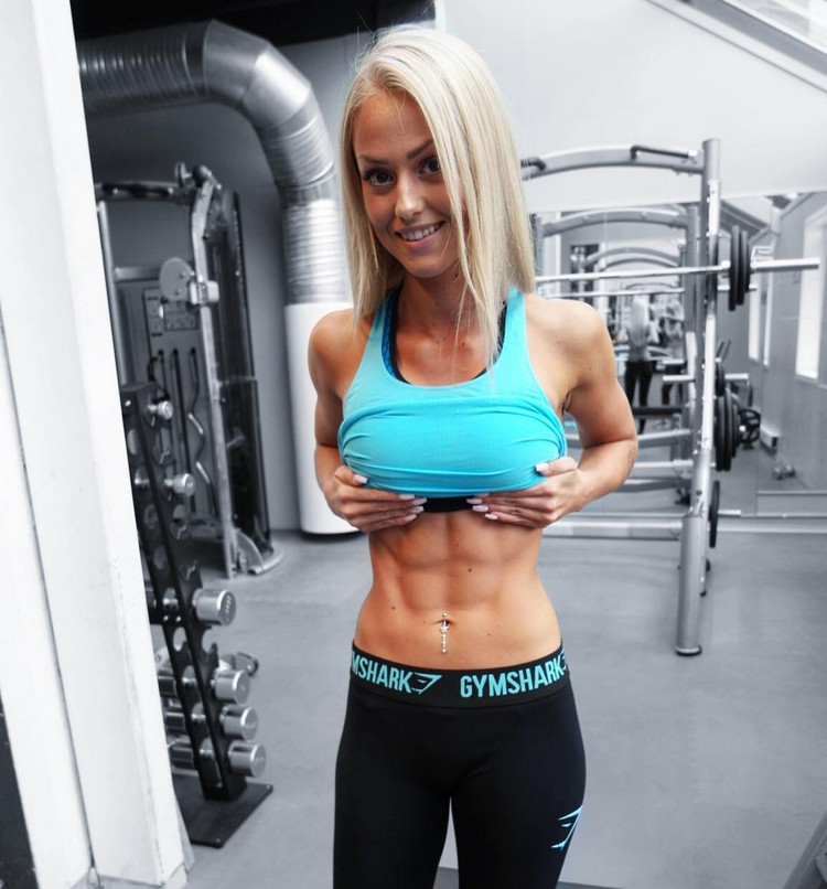 Johanna Modin, Swedish Fitness Model