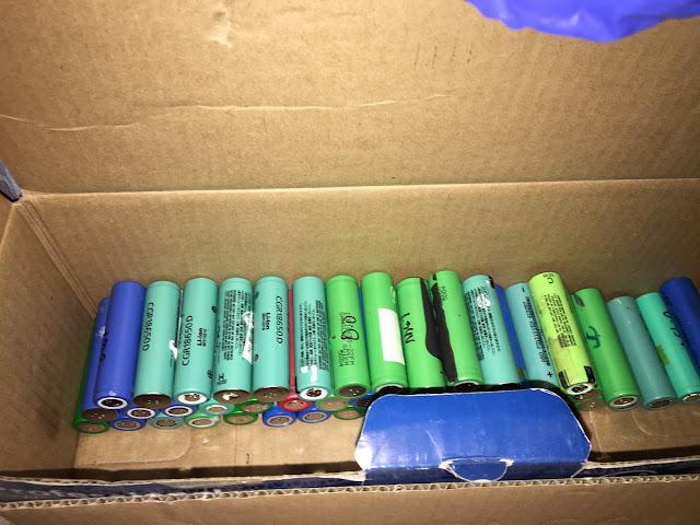 baterie złom 18650 utylizacja