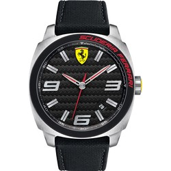 Ferrari Men's 0830163 Aero Evo Analog Display Quartz Black