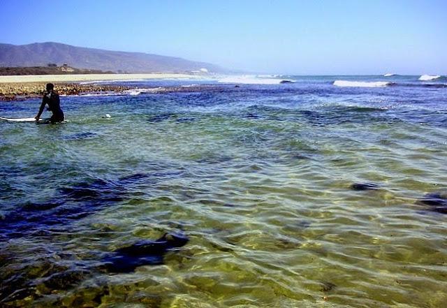 Praia Zuma Beach na Califórnia