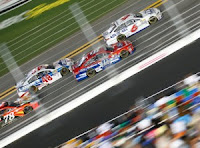 Trevor Bayne Charges to Third Place Finish.  (#NASCAR #NSCS)