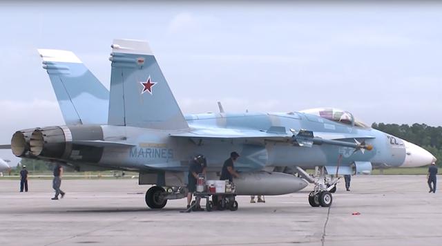 US  F/A-18 Jets