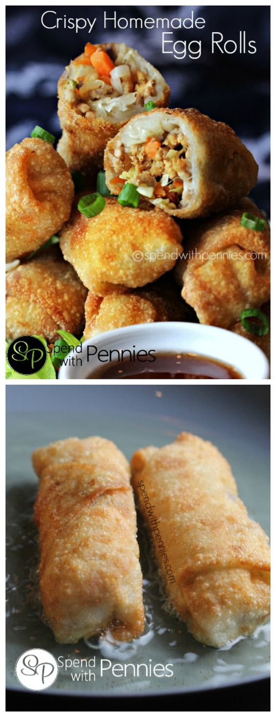 CRISPY HOMEMADE EGG ROLL RECIPE
