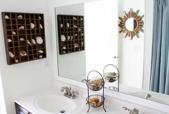 To Da Loos: Decorating With Shells In Your Washroom (part 2