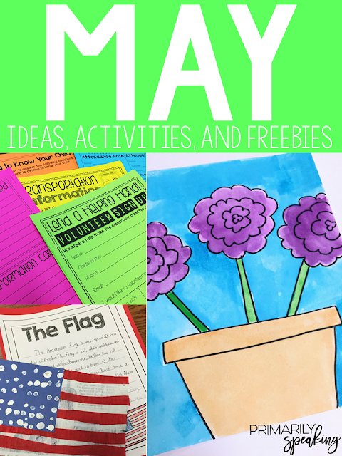 Teaching Ideas for the Month of May