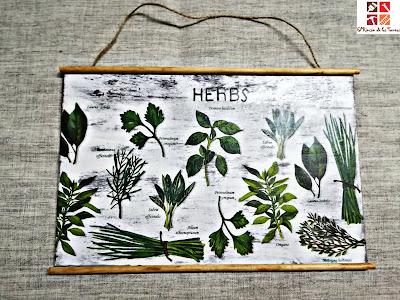 cuadros con plantas