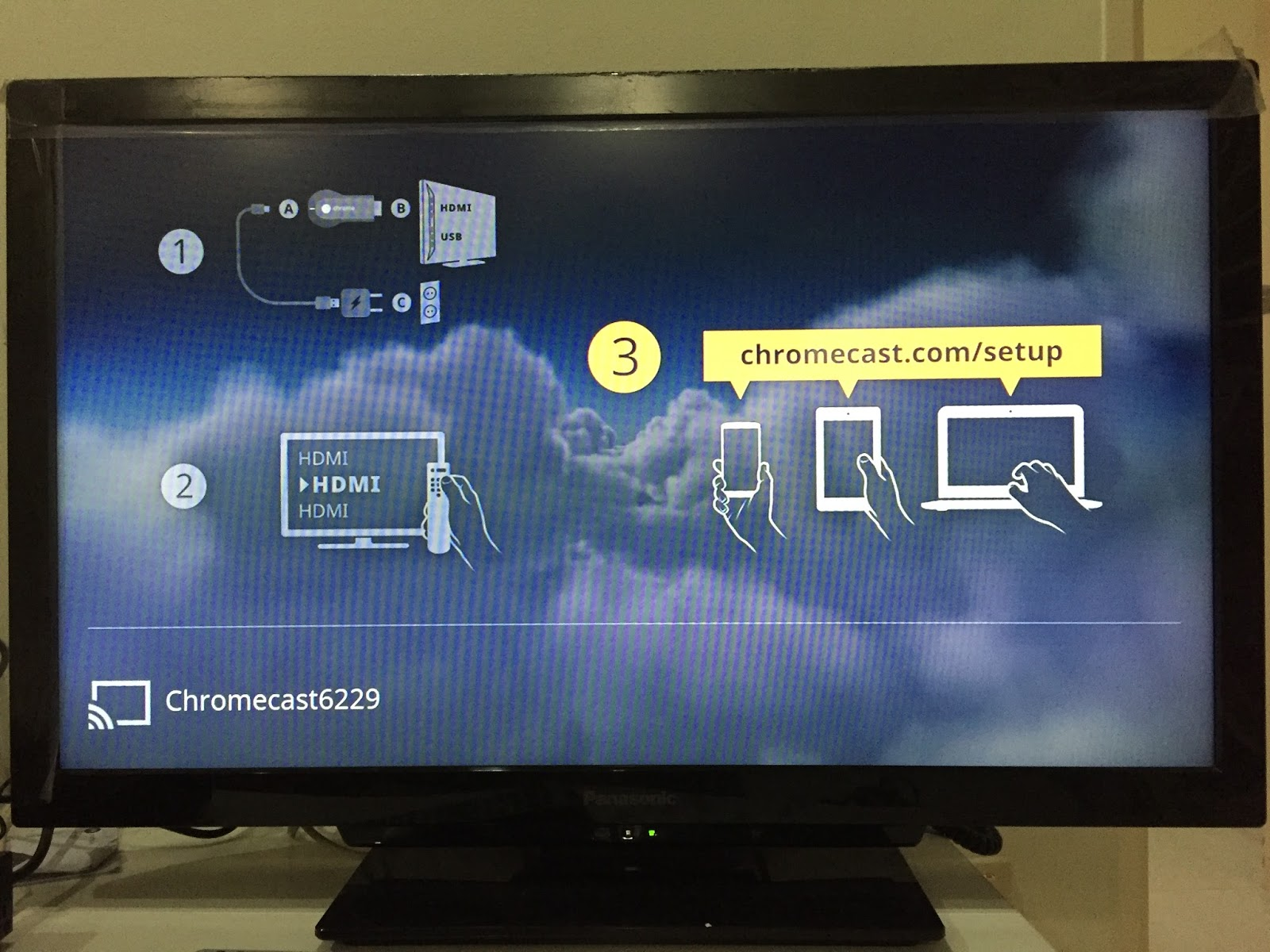 My Network Lab: Google Chromecast Setup