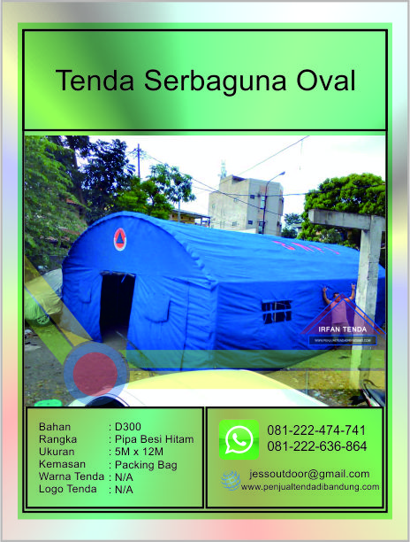 Penjual Tenda Bantuan BNPB